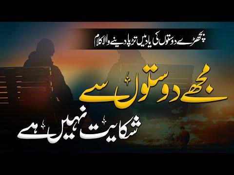 Mujhe Doston Se Shikayat Nahi Hai - Urdu Tarana