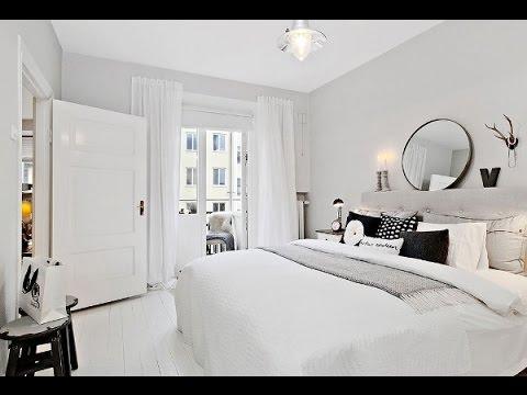 Дизайн спальни фото с белой мебелью