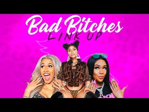 Bad Bitches Link Up (Remix) Ft. City Girls, Cardi B, Nicki Minaj & Saweetie