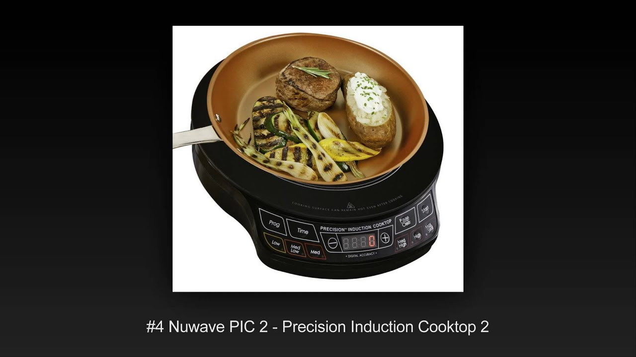 Top portable induction cooktops
