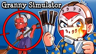 "Granny Simulator | ""GRANNYTOONZ IS GOING DOWN"""