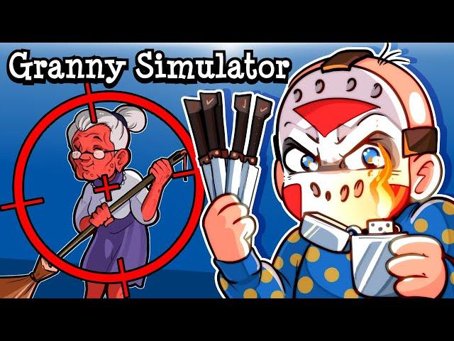 "Granny Simulator   ""GRANNYTOONZ IS GOING DOWN"""