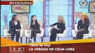 Laura Bozzo Celia Lora Se Confiesa en Laura de Todos Parte 2
