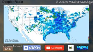 🔴 LIVE 24/7: TORNADO/SEVERE/TROPICAL WEATHER UPDATES