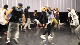 Rihanna making of WHYB - Part 1 ( footwork )