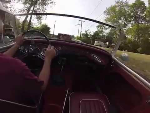 Austin Healey 3000 Mark 1 BT7 fun drive and growl!