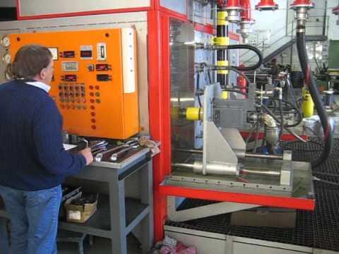 Hydrokraft Hydraulic Pump Test Optima Hydraulics Youtube