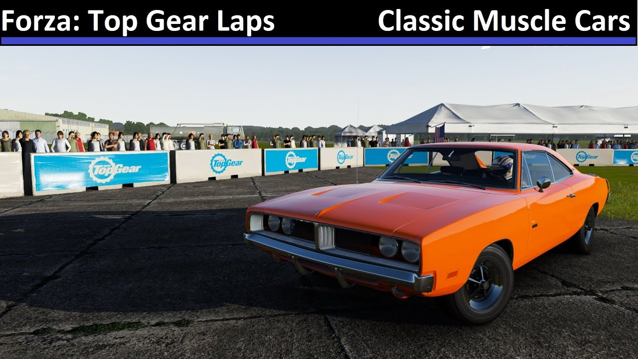 Forza Top Gear Laps Classic Muscle Cars Forza Motorsport