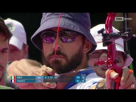 Mexico City 2017 - Archery World Championships: Italia vs Francia