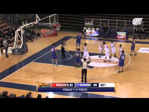 Novipiù Cup 2016 Finale 1° 2° posto - Pallacanestro Reggiana - Eurobasket Roma