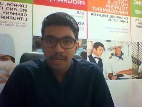 FH AACHEN Germany- Interview at S V Videsh Vidya Enterprises