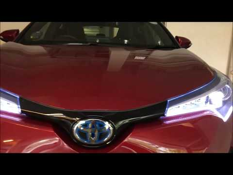 Installing DRL And Sequential LED Turn Indicator On Toyota CHR