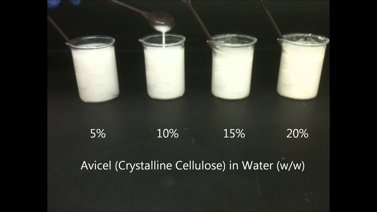 5 To 20   W  W  Avicel  Crystalline Cellulose
