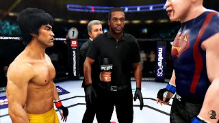 BRUCE LEE vs SLOTH |THE GOONIES | EA Sports UFC 3