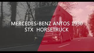 Verkaufsvideo: Mercedes-Benz Antos 1930 STX Horsetruck