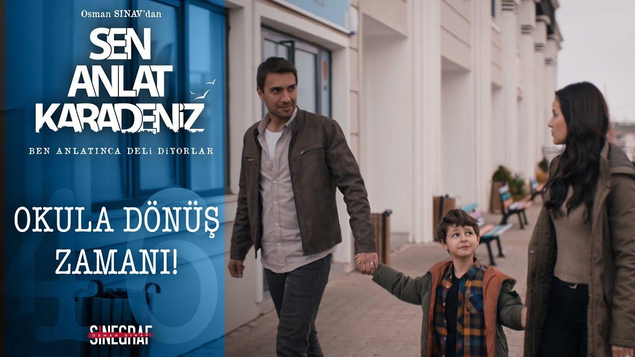 Nefes ve Yiğit'in okula dönüş heyecanı! - Sen Anlat Karadeniz 46. Bölüm