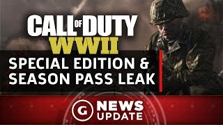 Call Of Duty WWII Special Edition And Season Pass Leaked - GS News Update