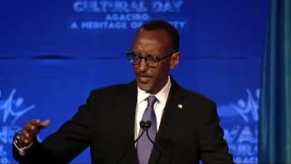 President Kagame speaks at Rwanda Cultural Day | San Francisco, 24 Sept  2016  (Part 1/2)