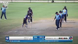 LIVE CRICKET - USA vs Namibia ICC World Cricket League League 2