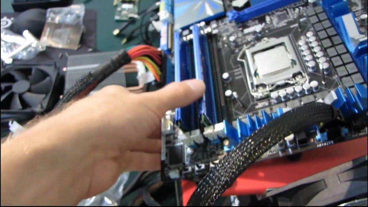 Corsair A50 Heatpipe Heatsink Cooler Installation Guide Tutorial