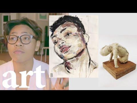 A* art portfolio (abstract) -  PARSONS, MONASH, RMIT +