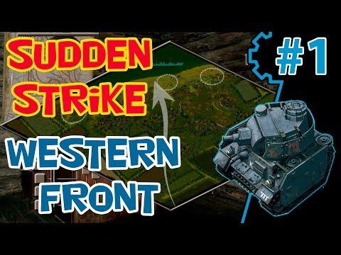 Стратегия про Вторую Мировую RWG ToW | мод Sudden Strike 2 | Кампания Западный фронт #1