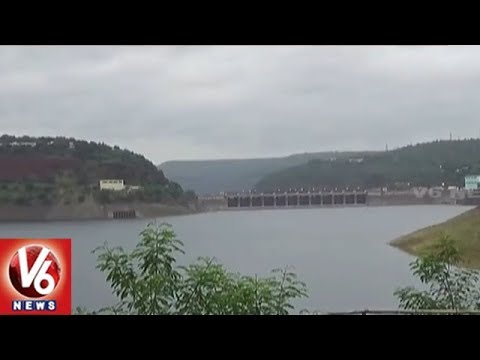 Water Levels In Srisailam Project Increased With Heavy Inflow | V6 News