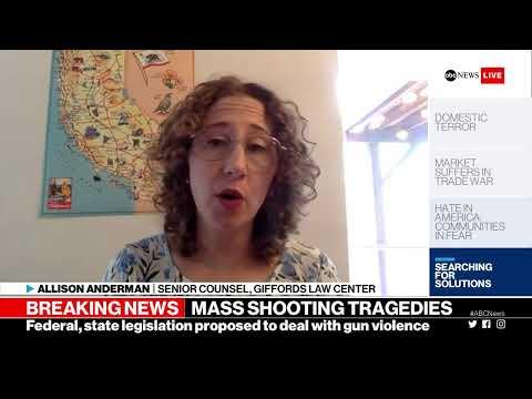 The Briefing room: El Paso, Texas & Dayton, Ohio mass shootings | ABC News