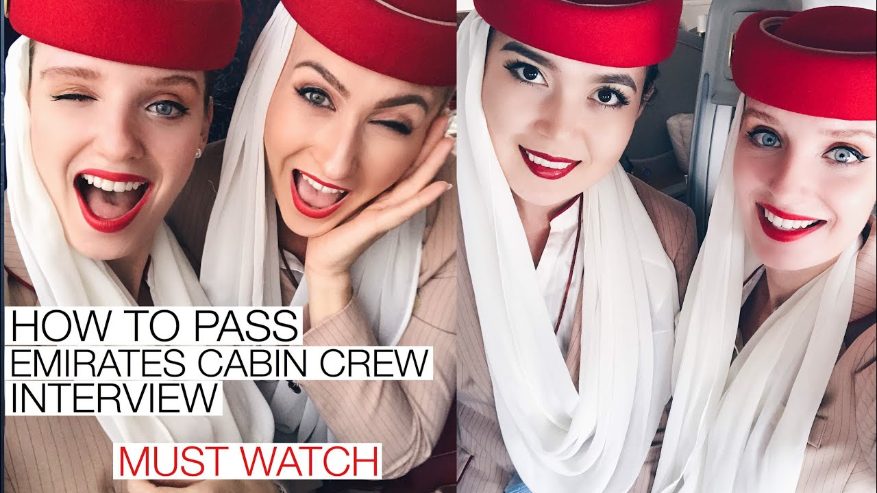 HOW TO PASS EMIRATES CABIN CREW INTERVIEW✨MUST WATCH