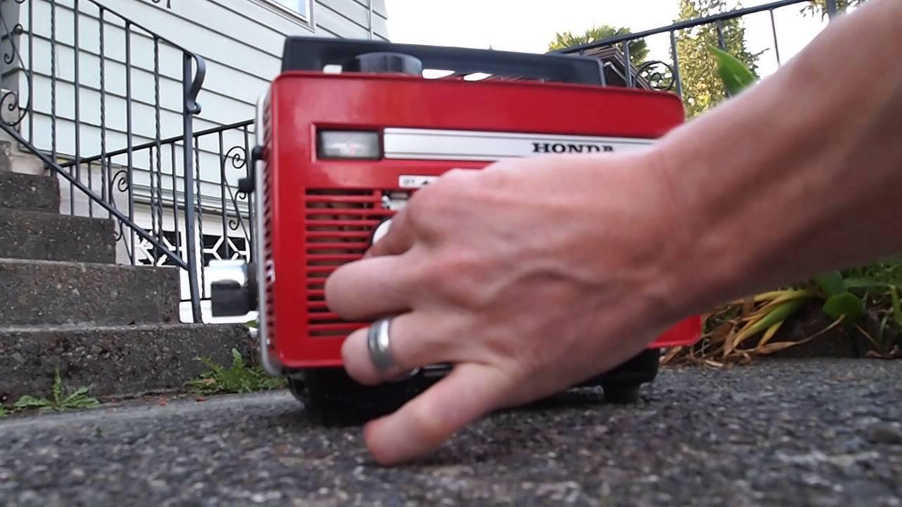 honda portable generators.  Generators Vintage 1960u0027s Honda E40 II Portable Generator  For Sale Works 40W  TINY Super SMALL On Generators