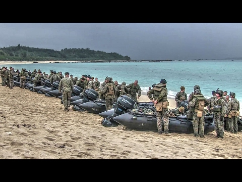 Marines Refine Their Amphibious Raid Skills