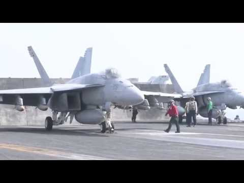 USS Dwight D Eisenhower   Commences Strikes in Support of Operation Inherent Resolve   June 28, 2016
