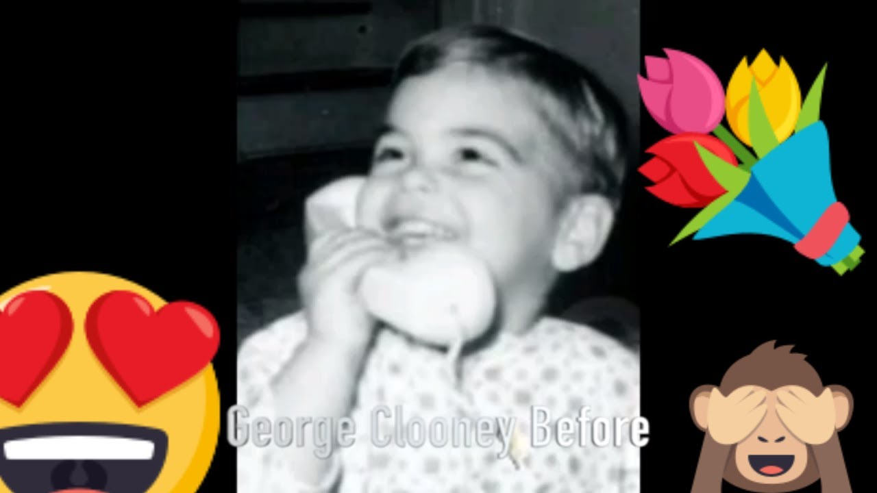 George Clooney  - Popular Celebrity Face Progression 37: Grown Ups