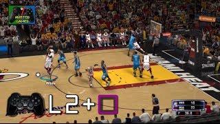 NBA 2K14 [PS3] - Cómo hacer ALLEY OOPS