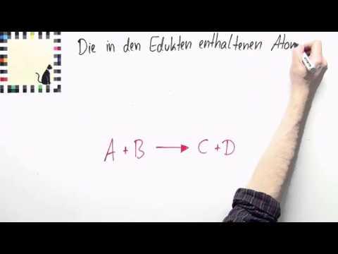 Reaktionsgleichungen - Darstellung chemischer Gleichungen | Chemie ...