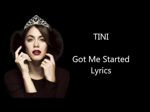 TINI (Martina Stoessel) - Got Me Started (Lyrics)