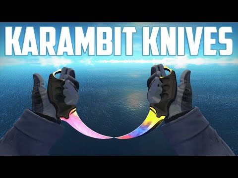 CS:GO - Karambit Knives - All Skins Showcase + Price | Все Скины Karambit Knives + Цены