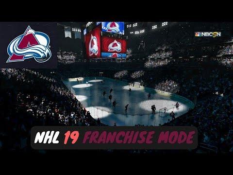 NHL 19 Franchise Mode - Colorado Avalanche Ep. 1