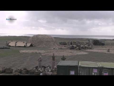 1st Marine Logistics Group Combat Operations Center (COC) Build - Time Lapse