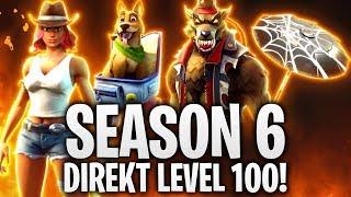 SEASON 6 DIRECT LEVEL 100! 🔥 + ALL SKINS! | Fortnite: Battle Royale