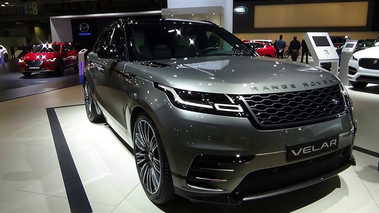 Range Rover Velar Colours Youtube