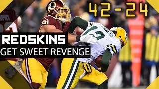 Redskins Get REVENGE vs Packers - Where are the Kirk Haters?