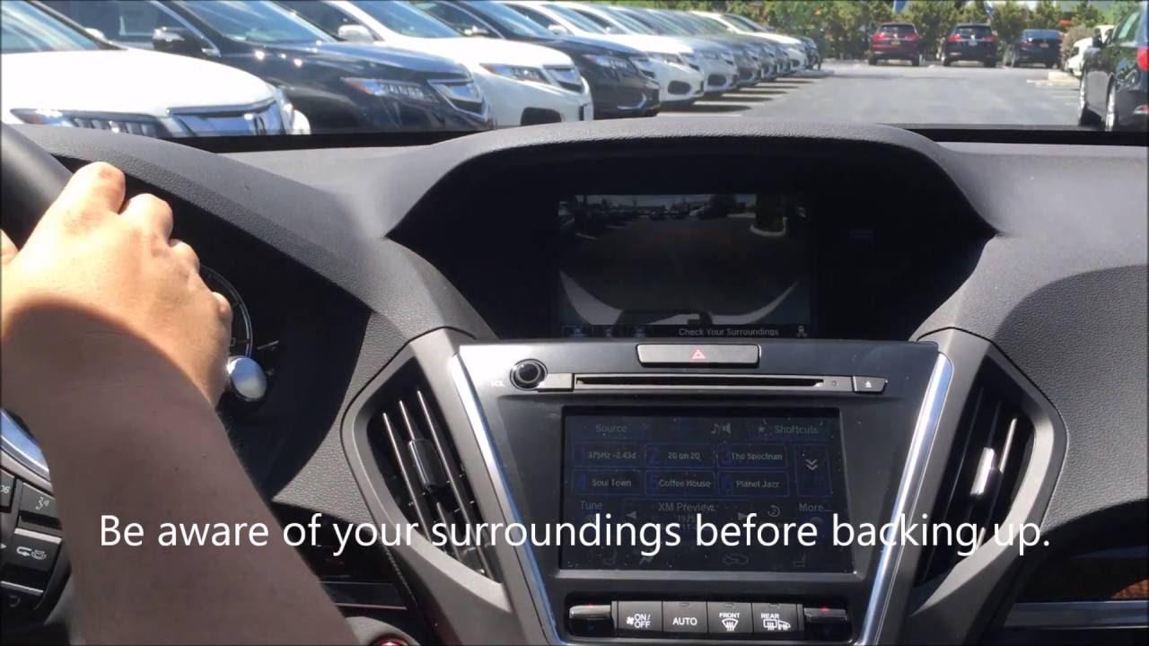 Friendly Acura How To Use The Rear Camera In Your New 2017 Mdx Kingston Ny