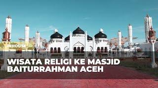 Wisata Religi ke Masjid Baiturrahman Aceh (Subtitle ON!)