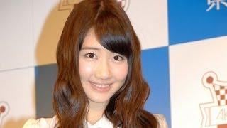 """人気アイドルグループ・AKB48の柏木由紀が14日、東京・秋葉原のAKB48カフェで行われた『ゆきりん監修""""鹿児島コラボメニュー""""』販売開始イベントに出席した。"""