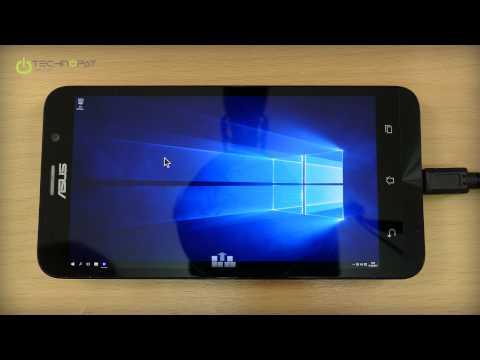 ASUS Zenfone 2'de Windows 10 Çalıştırıyoruz