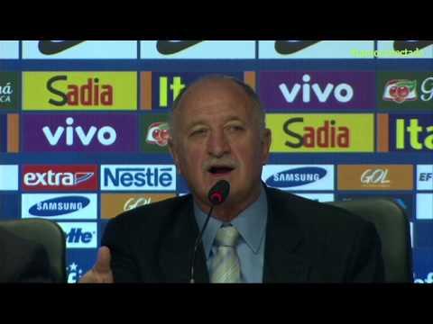 Felipão convoca Seleção da Copa