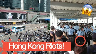 BREAKING: Footage From The Hong Kong Riots - 2019