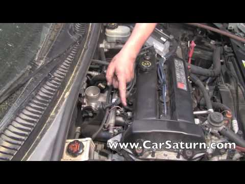 Tips On Replacing The Intake Manifold On A Saturn 19 Liter - YouTube
