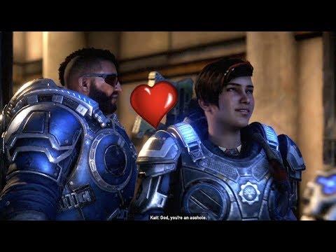 Fahz Tries To Flirt With JD's Girlfriend Kait - Gears 5